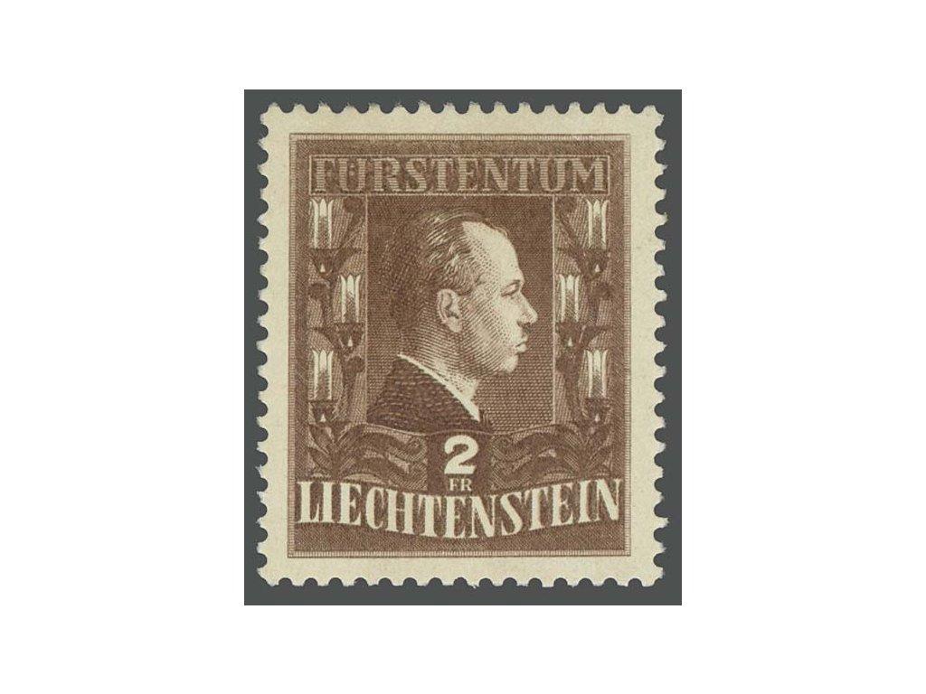 1944, 2Fr Franz Josef II., MiNr.238, * po nálepce