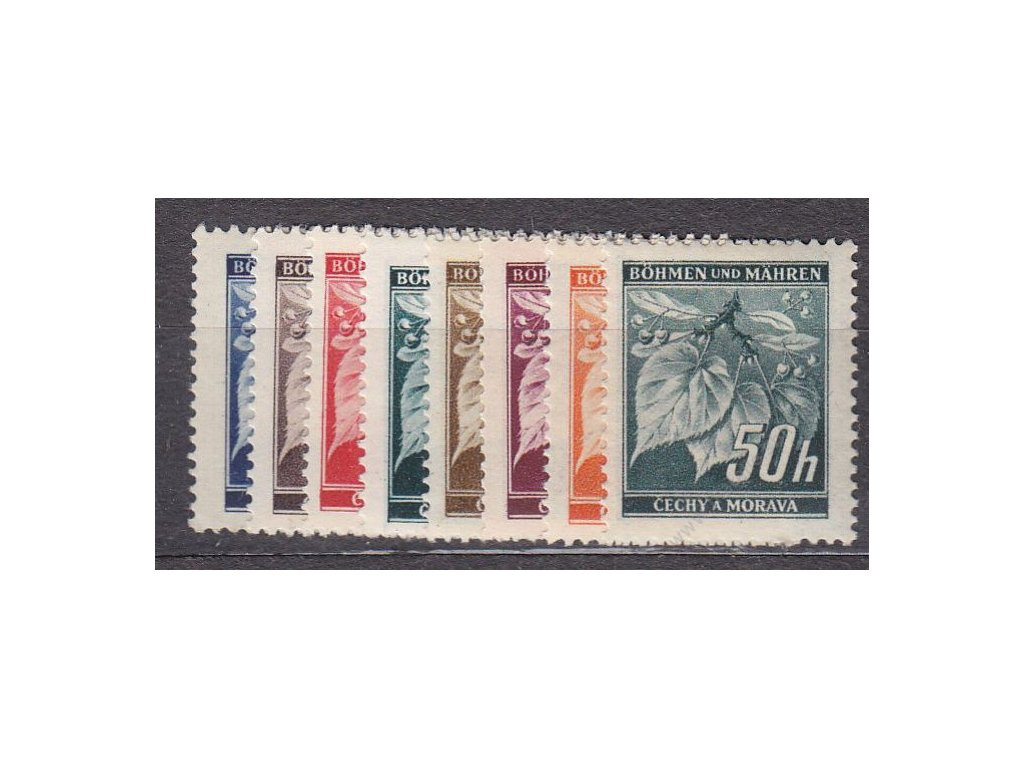 1939, 5-50h Ratolest, série, Nr.20-7, **