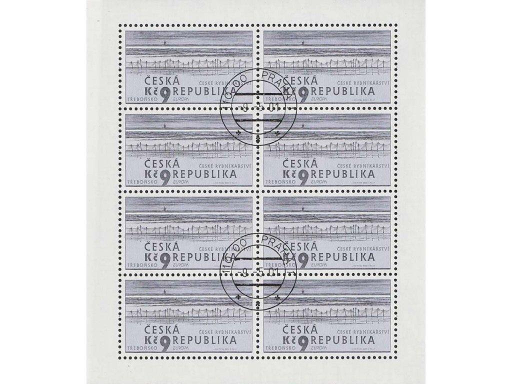 2001, 9Kč PL - Rybníkářství, Nr.PL290, razítkované