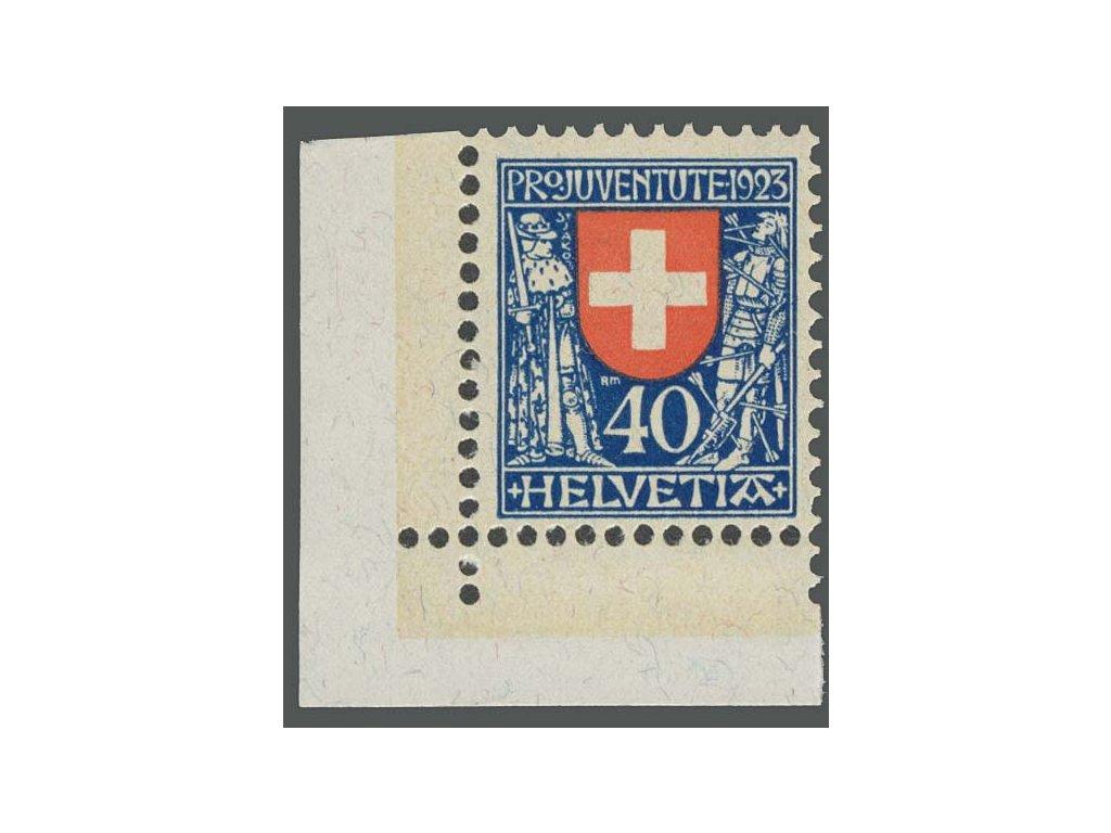 1923, 40C Znak, MiNr.188, **
