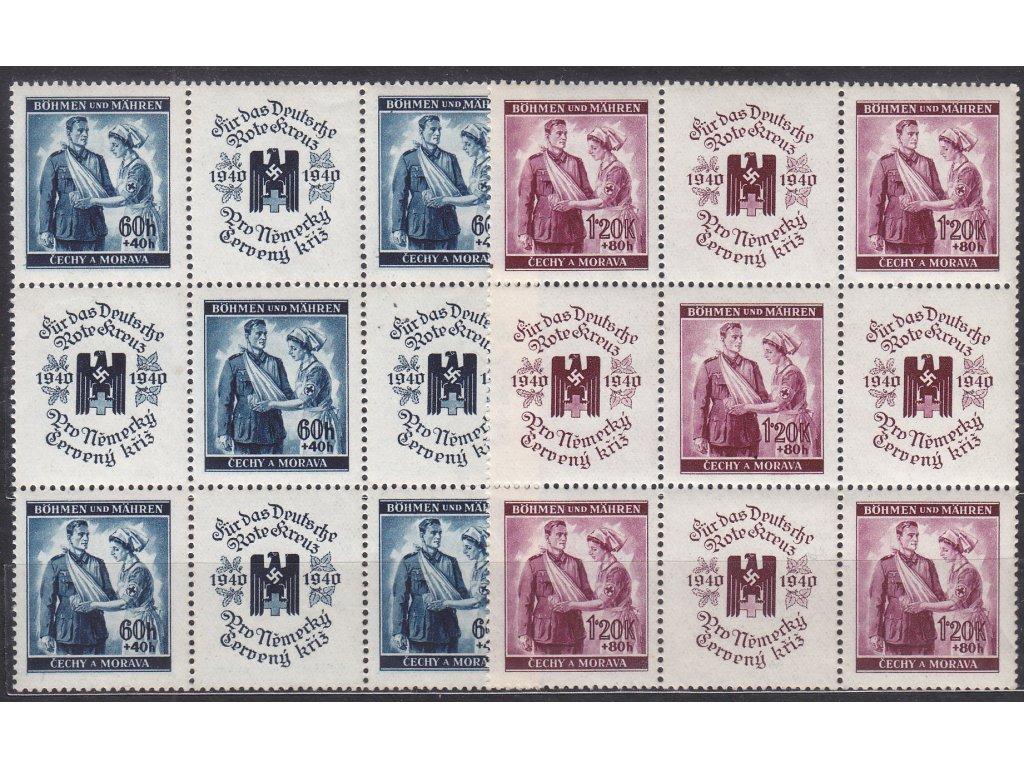60h-1.20K ČK I, 9bloky, VK21, Nr.50-1, **