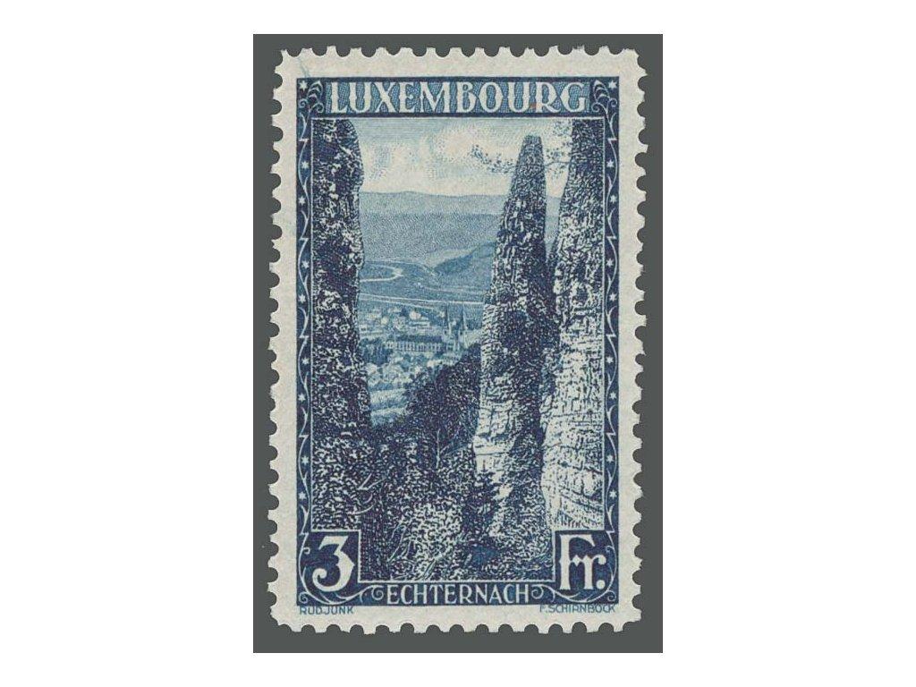 1923, 3 Fr Echternach, MiNr.147, **