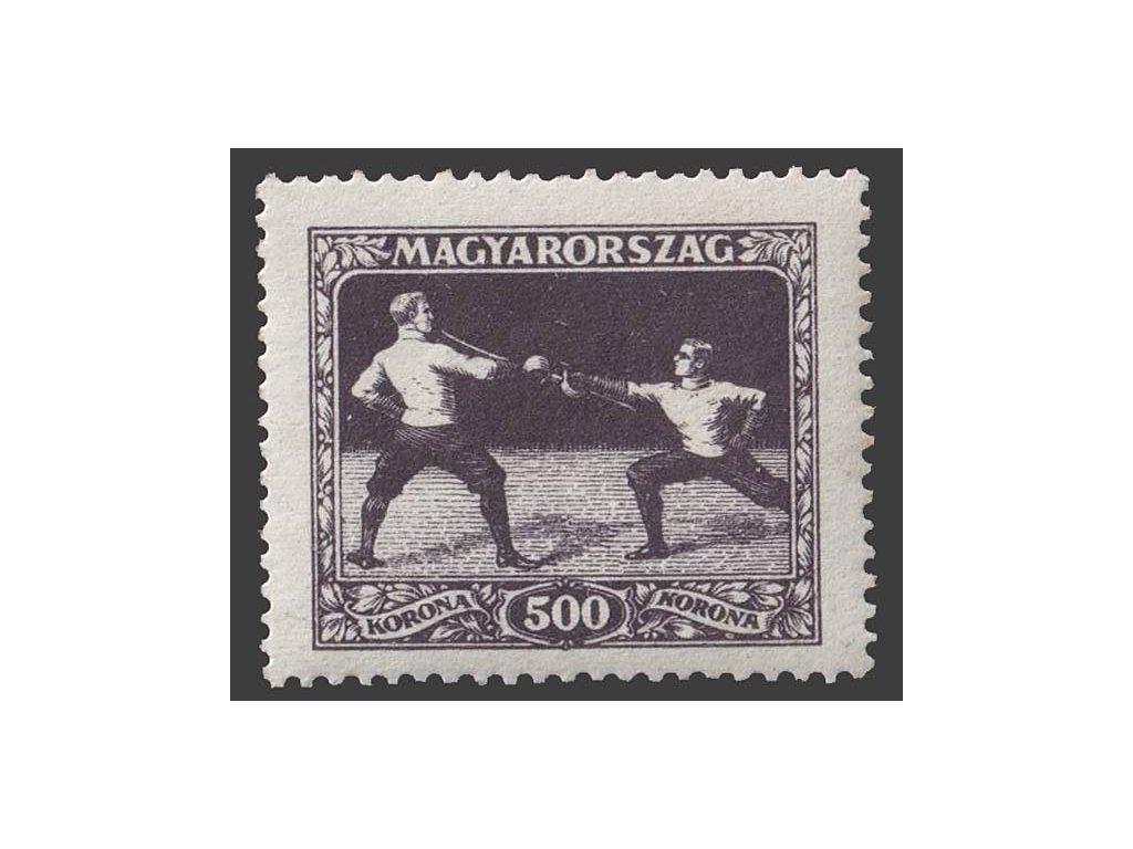 1925, 500 Kr Sport, MiNr.407, **