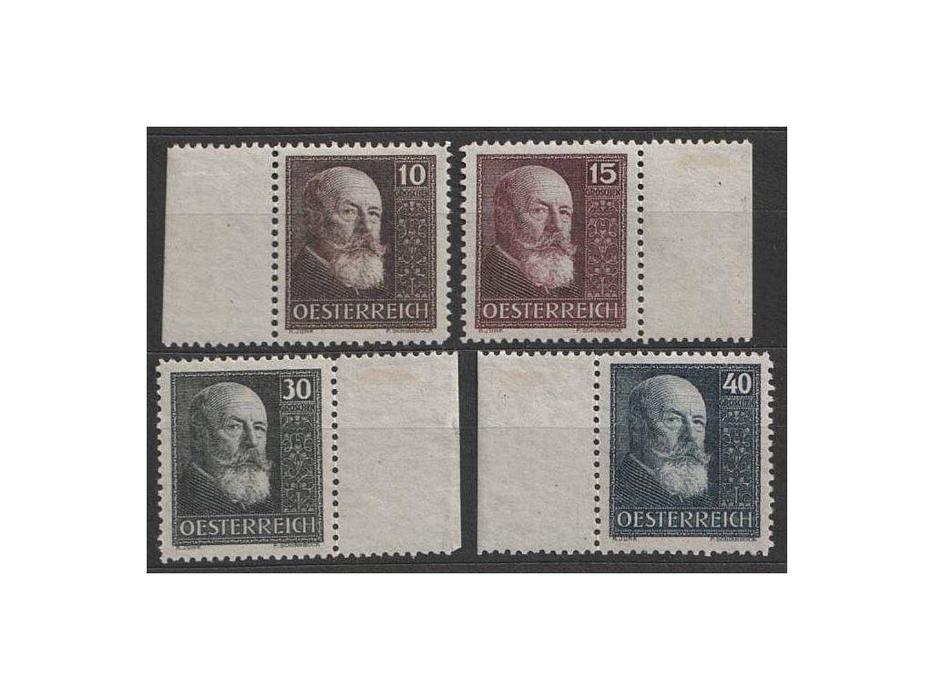 1928, 10-40g série Hainish, MiNr.494-97, ** , dv