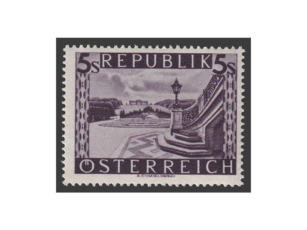 1947, 5 S Schönbrunn, MiNr.853, **