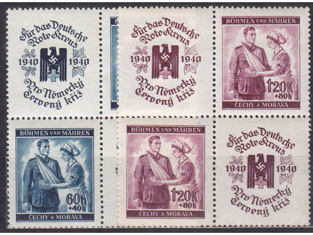 60h-1.20K ČK I, 4bloky, VK19, Nr.50-1, **