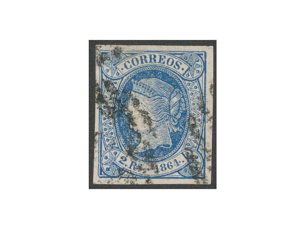1864, 2 R Isabella, MiNr.60, razítkované
