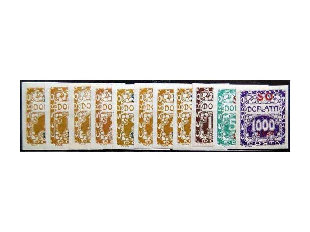5-1000h doplatní série, Nr.SO33-43, * po nálepce