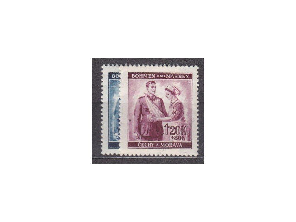 1940, 60h-1.20K ČK I, série, Nr.50-1, **