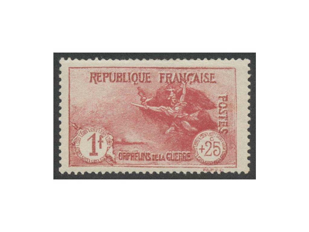 1926, 1 Fr + 25C Válečná, MiNr.213, * po nálepce, skvrnka