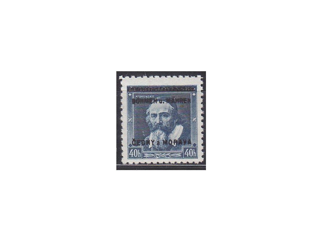 1939, 40h Komenský, DV - 8 místo B, zk.Karásek, Nr.6, **