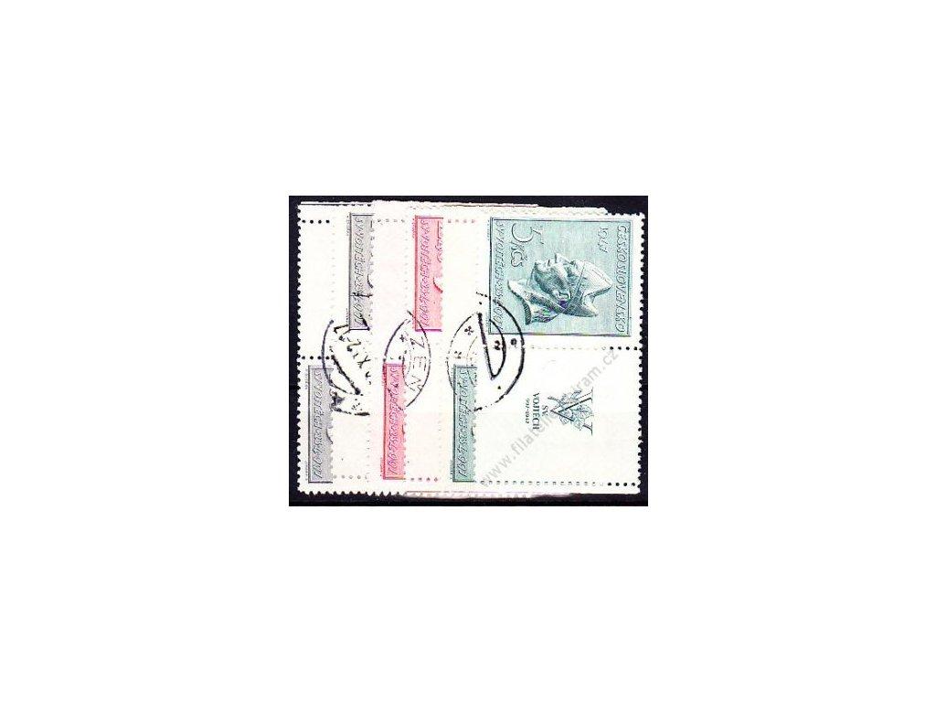 1.60-5Kčs sv. Vojtěch, levý a pravý kupon, Nr.450-2, razítkované, ilustrační foto