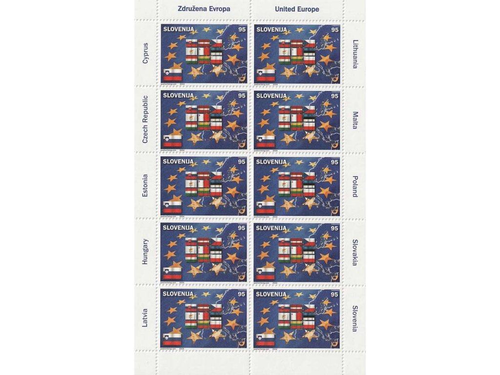 2004, PL - Deset nových členů EU, Slovinsko, kat. 1200Kč, **