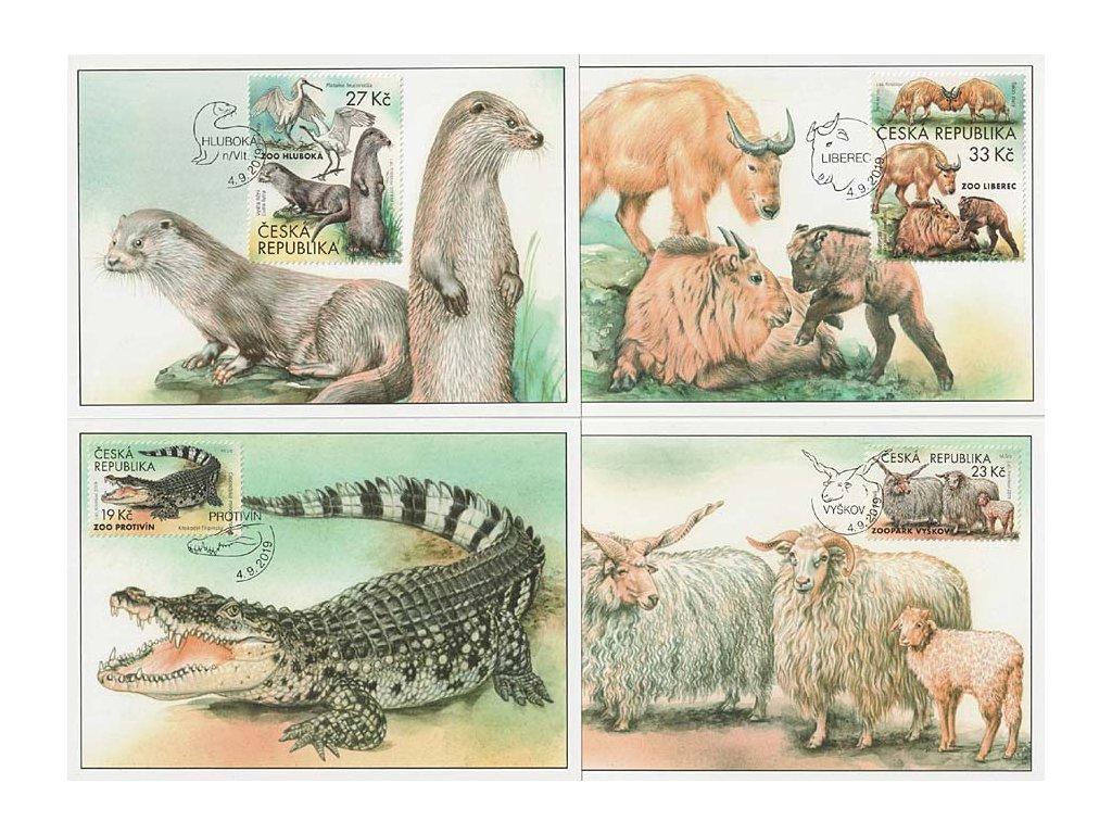 CM 139-142 Ochrana přírody Zoologické zahrady IV.
