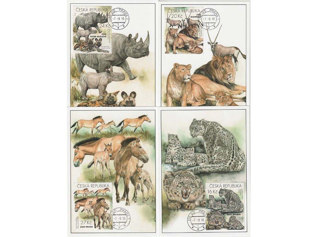 CM 116-119 Ochrana přírody Zoologické zahrady I.