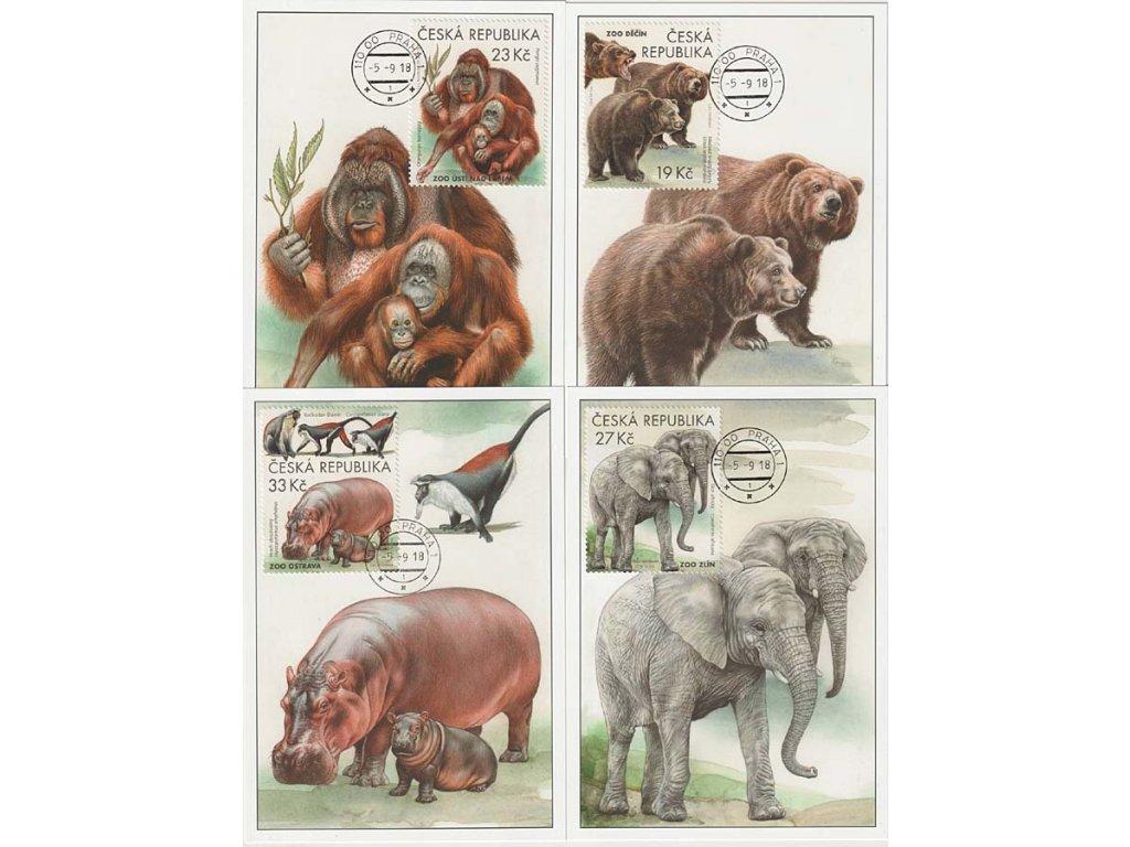 CM 133-136 Ochrana přírody Zoologické zahrady III.