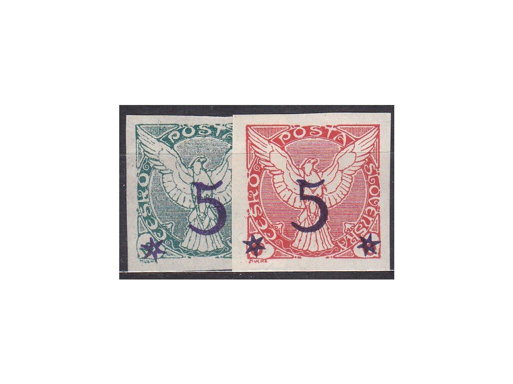 1925, 5/2-5/6h série, Nr.NV9-10, **, ilustrační foto