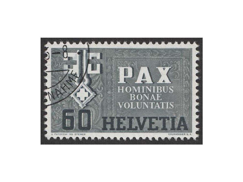1945, 60 C PAX, MiNr.453, razítkované