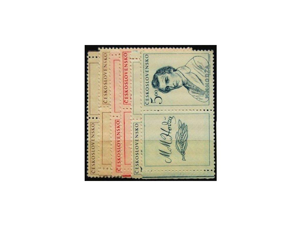 1948, 1.50-5Kčs Slovenské povstání, Nr.481-3, KL+KP, **