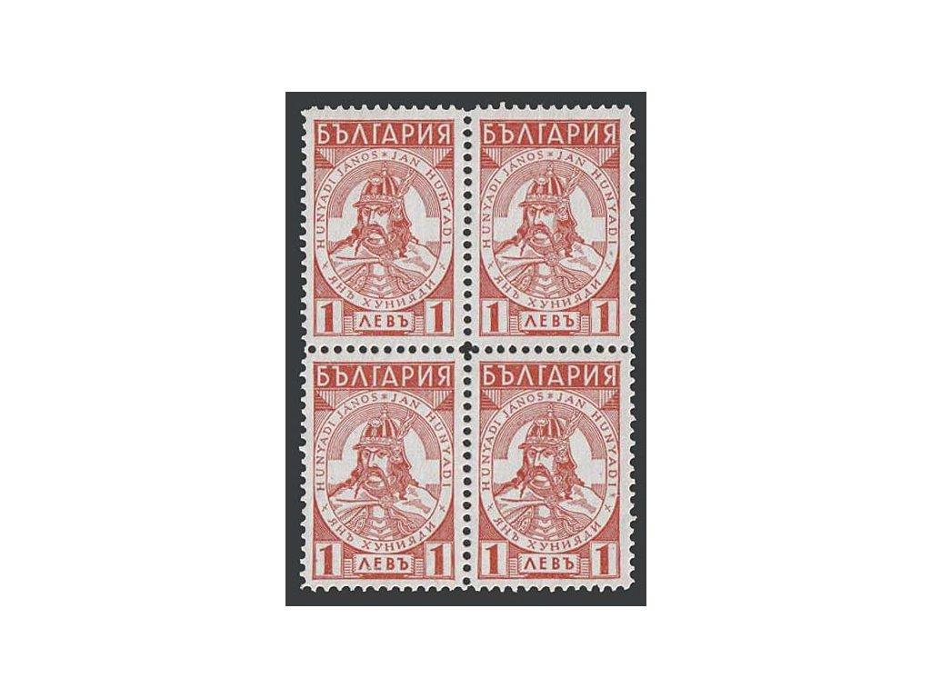 1935, 1 L Jan Hunyadi, 4blok, MiNr.286, **