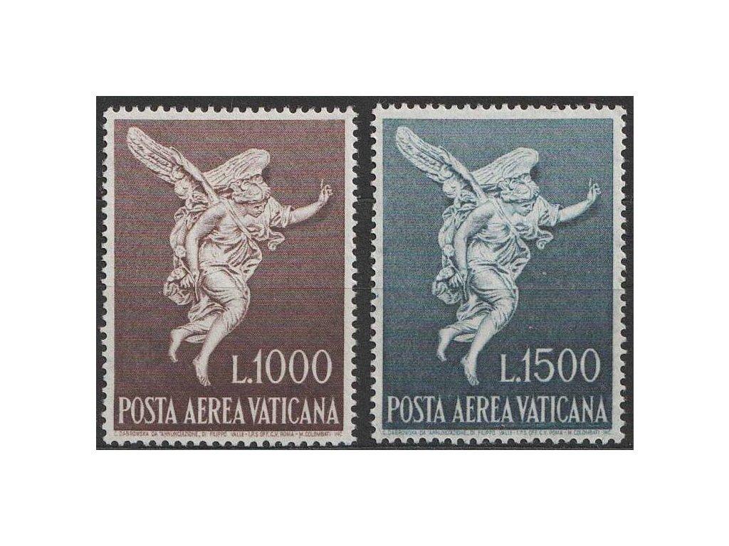 1962, 1000-1500 L letecká série, MiNr.391-92, **