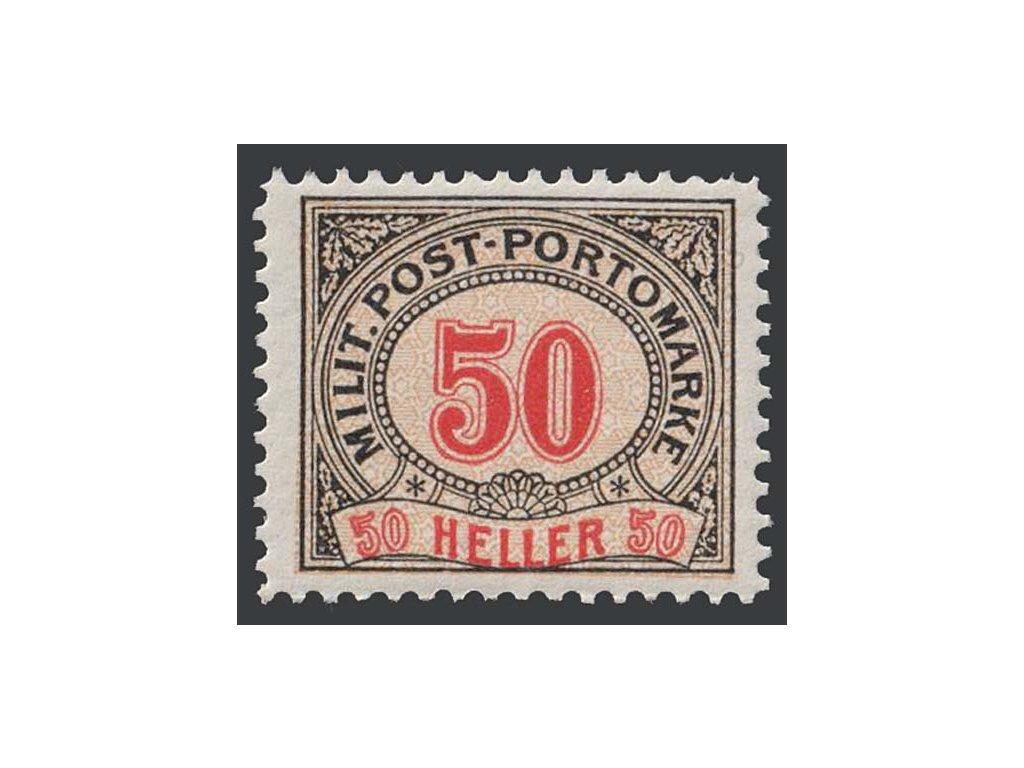1904, 50 H doplatní, MiNr.12, **