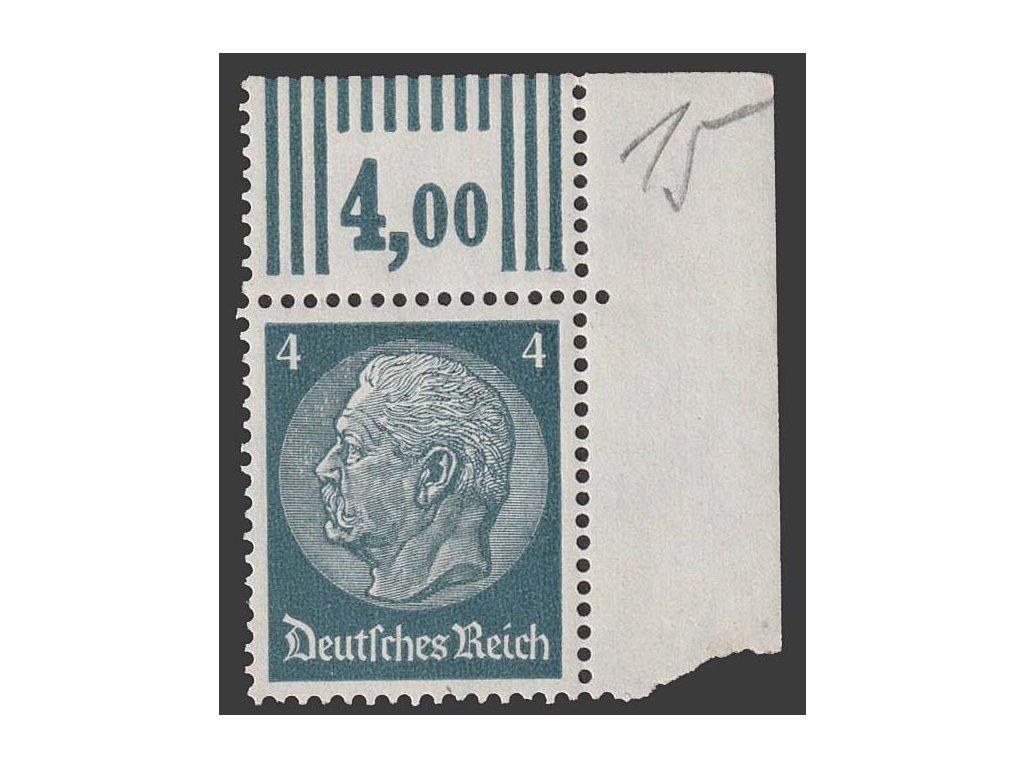 1933, 4 Pf Hindenburg, MiNr.514, **