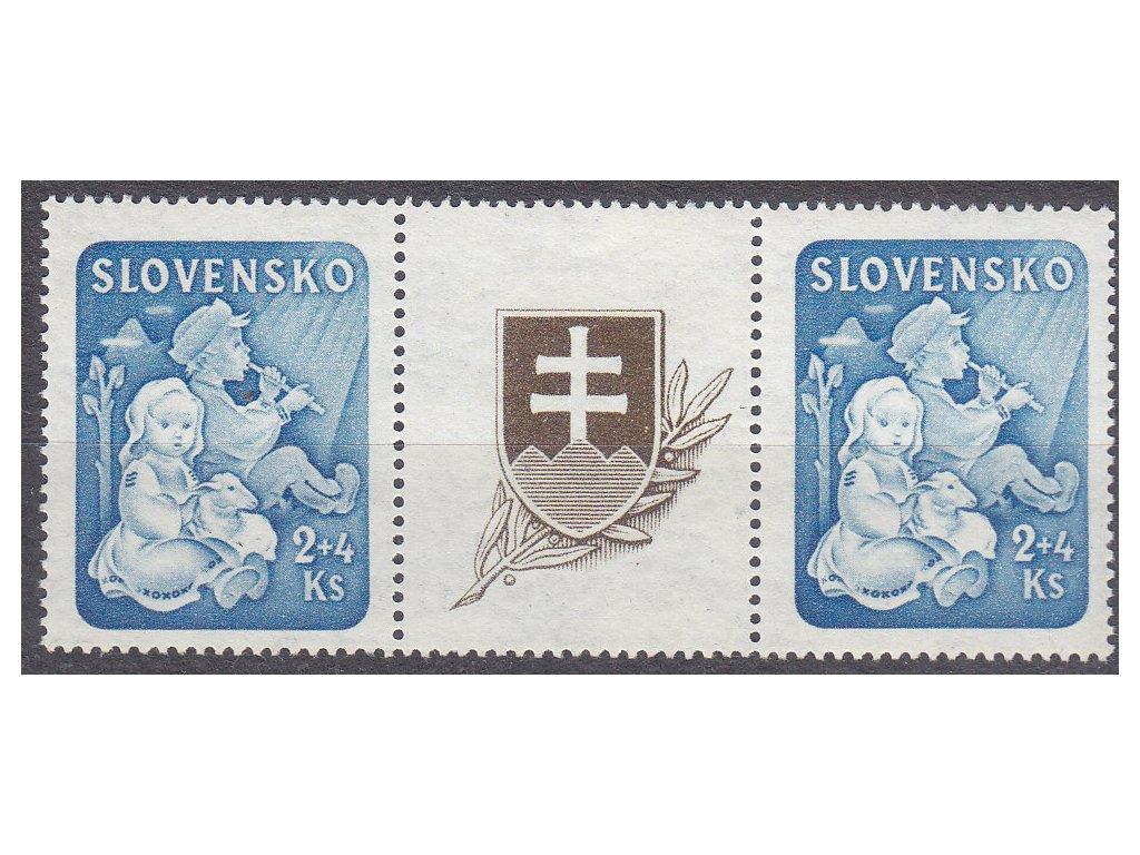 1944, 2Ks Dětem, spojka, Nr.119, **