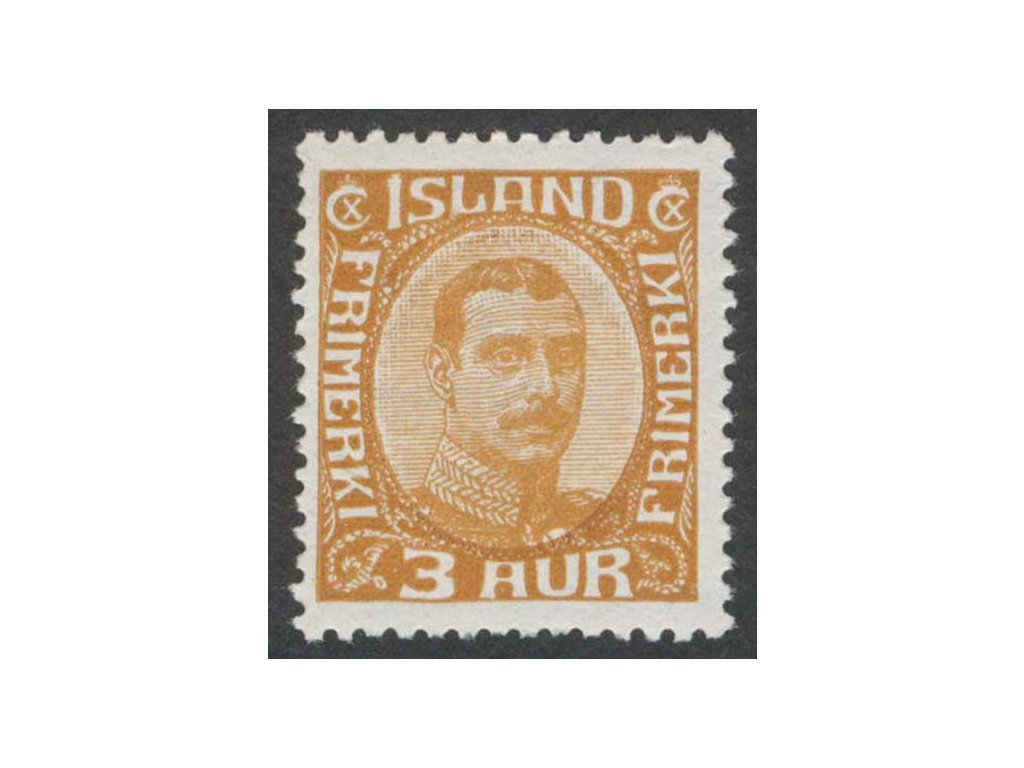 1920, 3 A Christian, MiNr.84, * po nálepce
