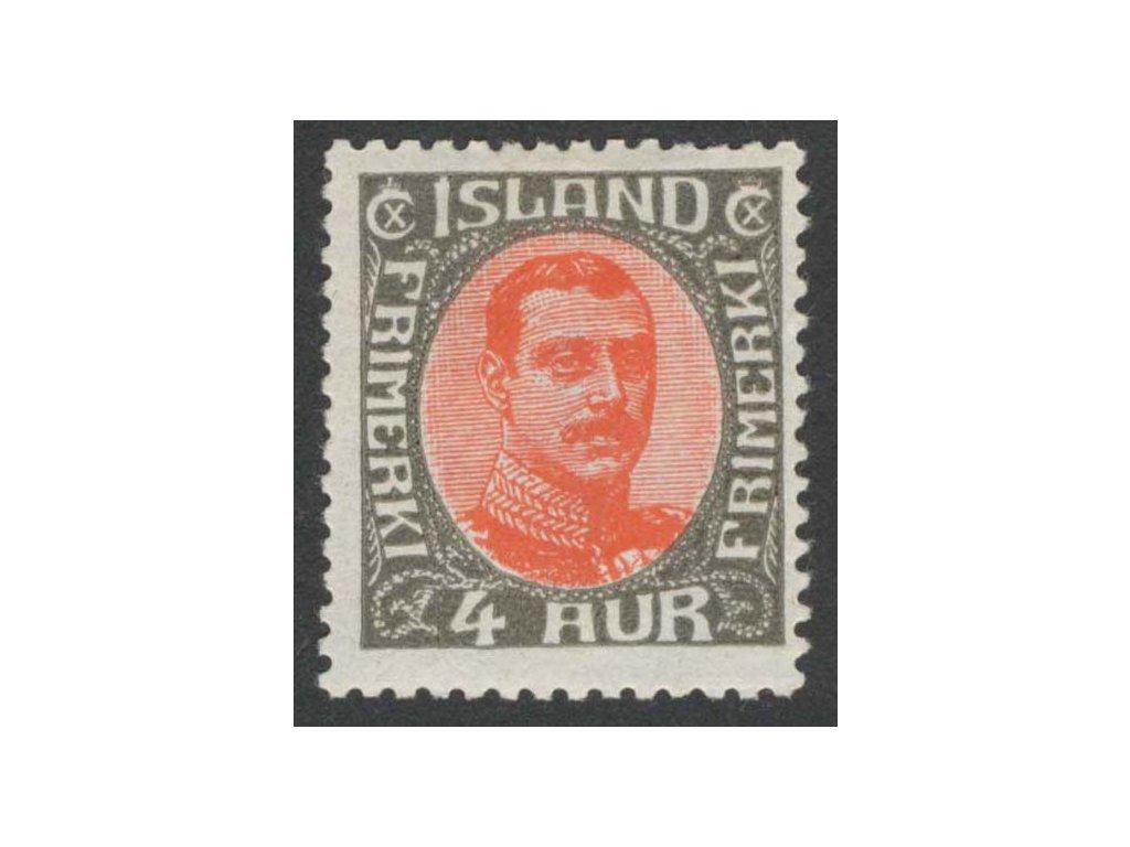 1920, 4 A Christian, MiNr.85, * po nálepce