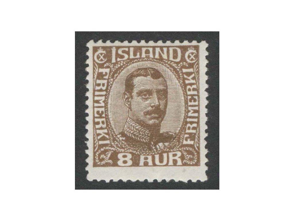 1920, 8 A Christian, MiNr.88, * po nálepce