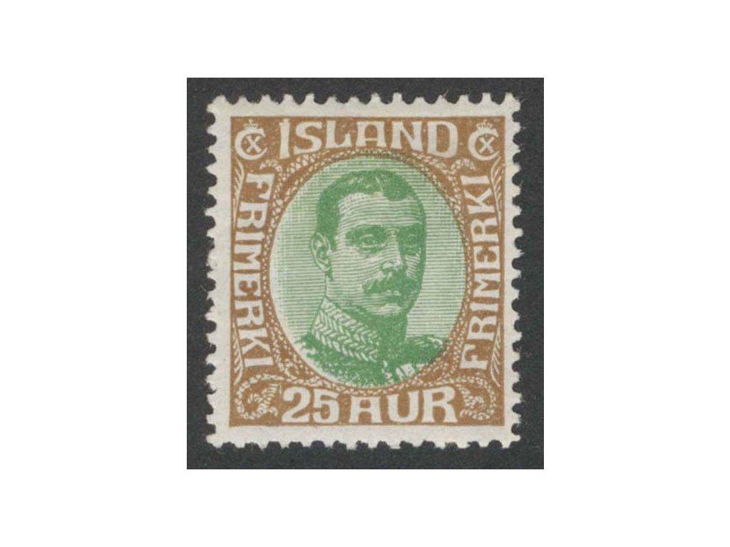 1920, 25 A Christian, MiNr.92, * po nálepce