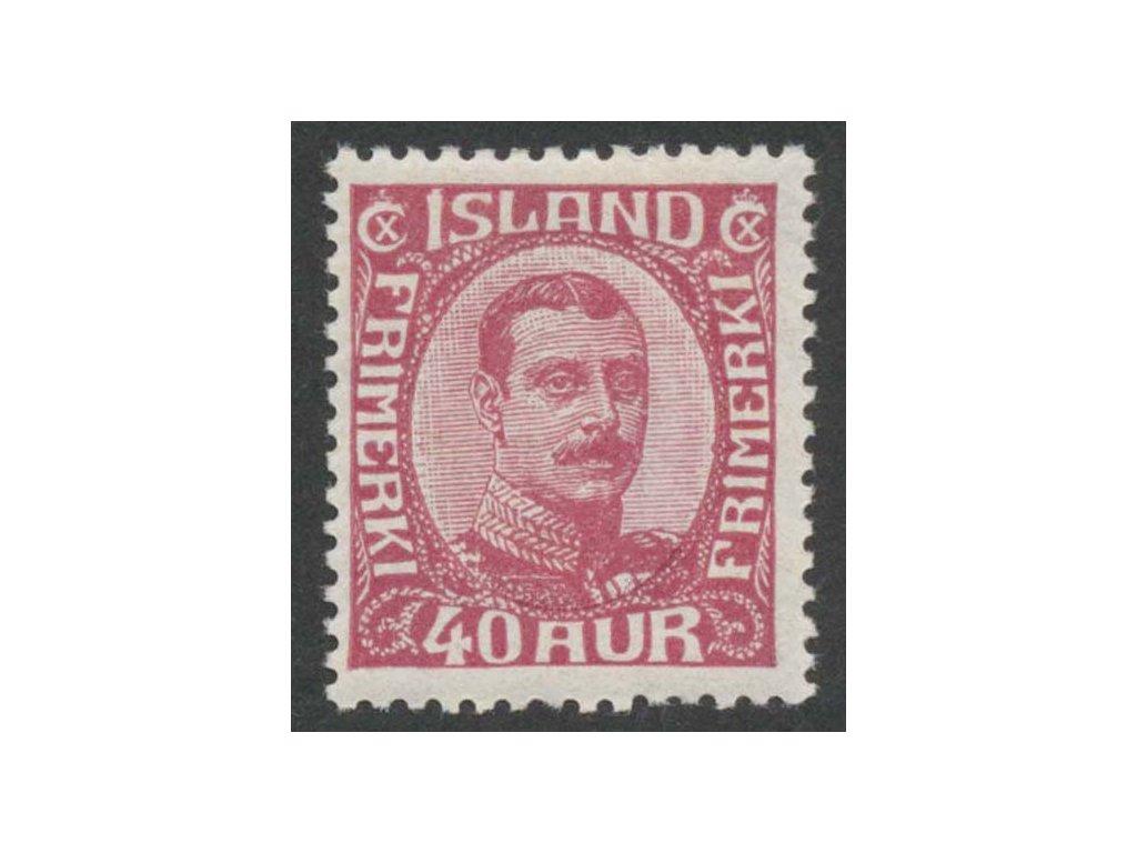 1920, 40 A Christian, MiNr.94, těžší *