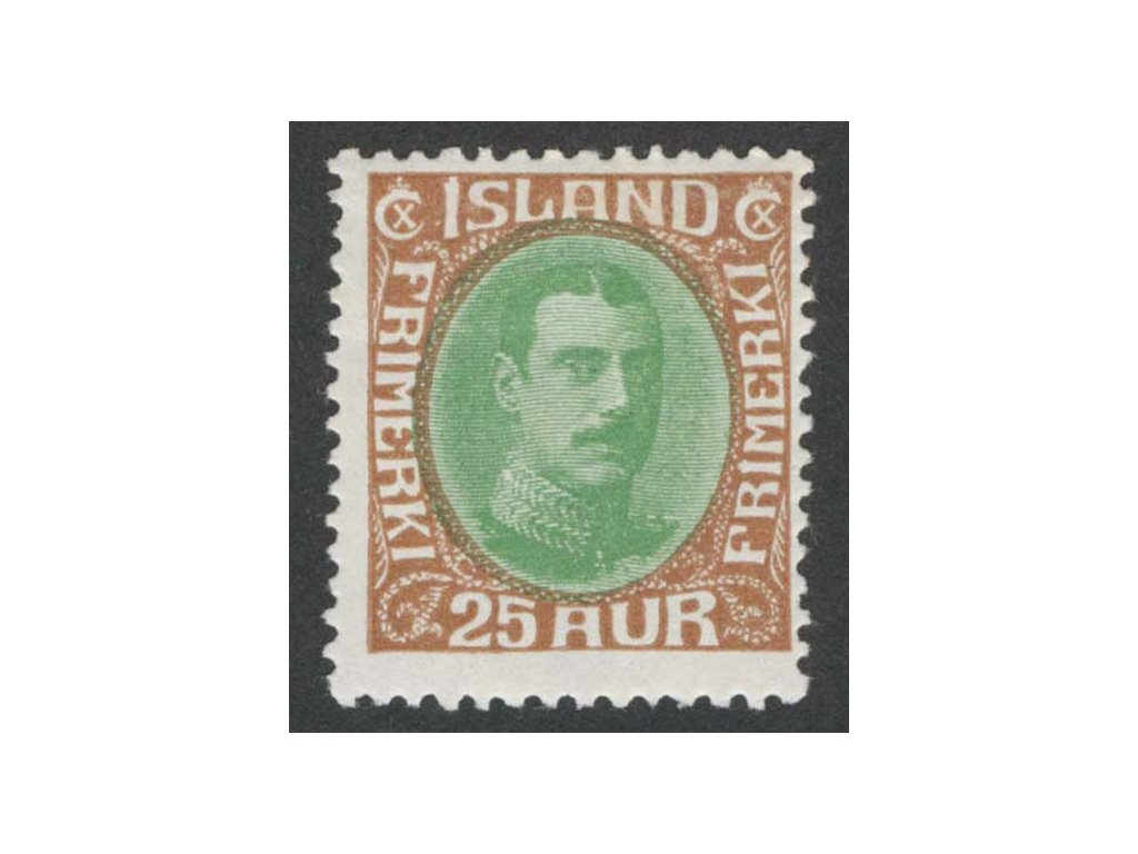 1931, 25 A Christian, MiNr.162, těžší *