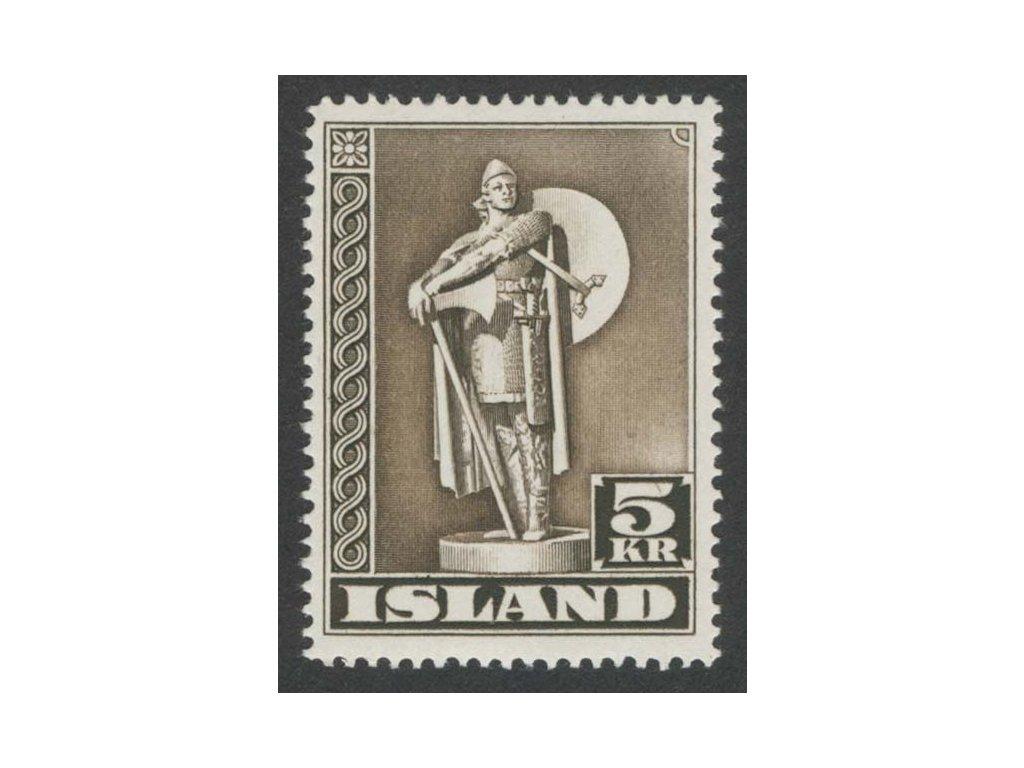 1943, 5 Kr Thor, MiNr.230A, **