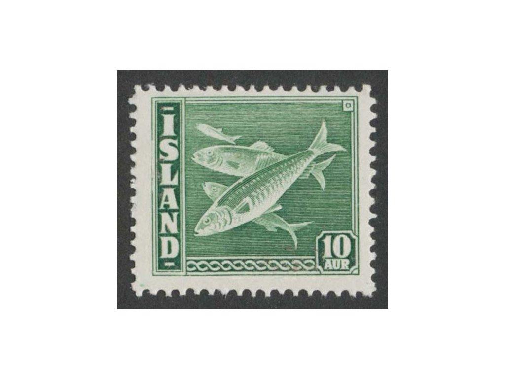 1940, 10 A Ryby, MiNr.214A, **