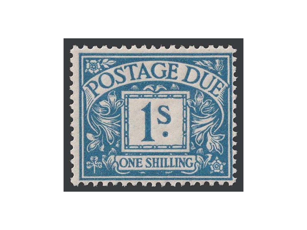 1924, 1 Sh doplatní, MiNr.16, * po nálepce