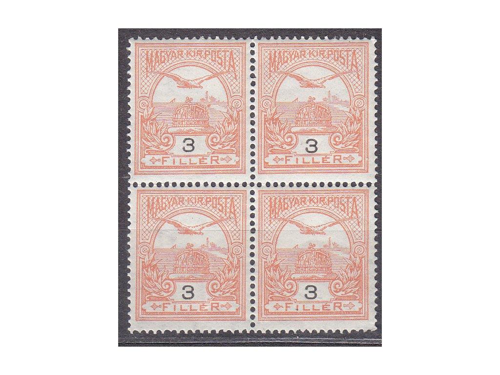 3f Turul, 4blok, zn. platná v ČSR, **, ilustrační foto