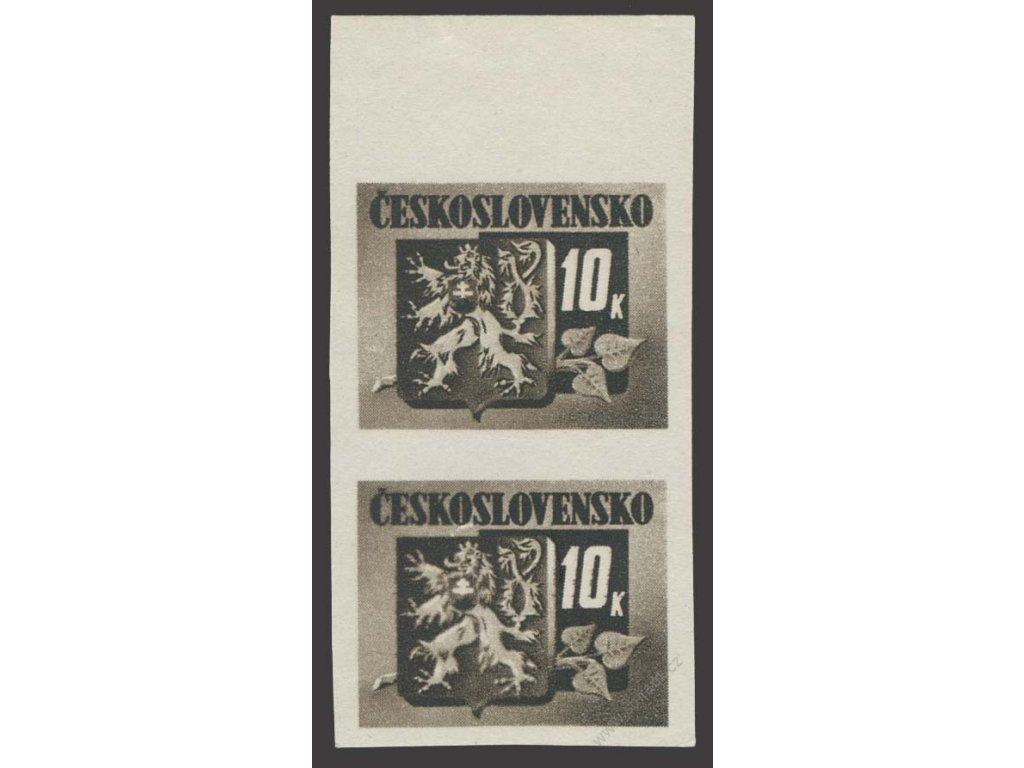 1945, 10K Bratislavské, DO - rozlitý kříž ve znaku, **