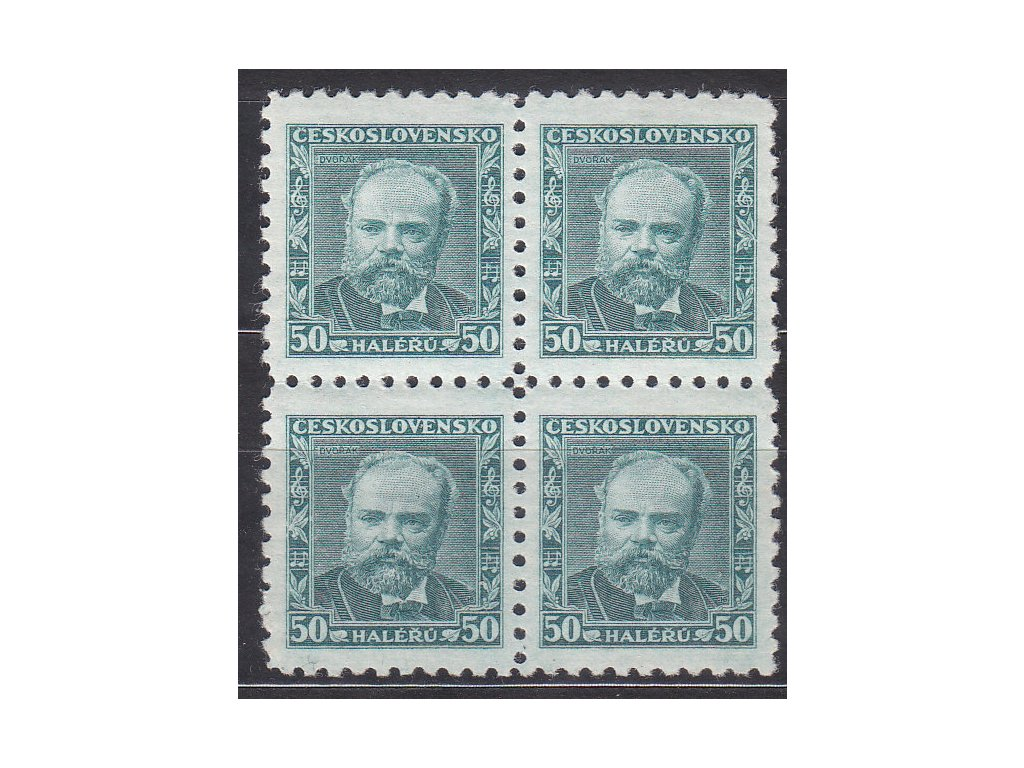 1934, 50h Dvořák, 4blok, Nr.280, **, ilustrační foto