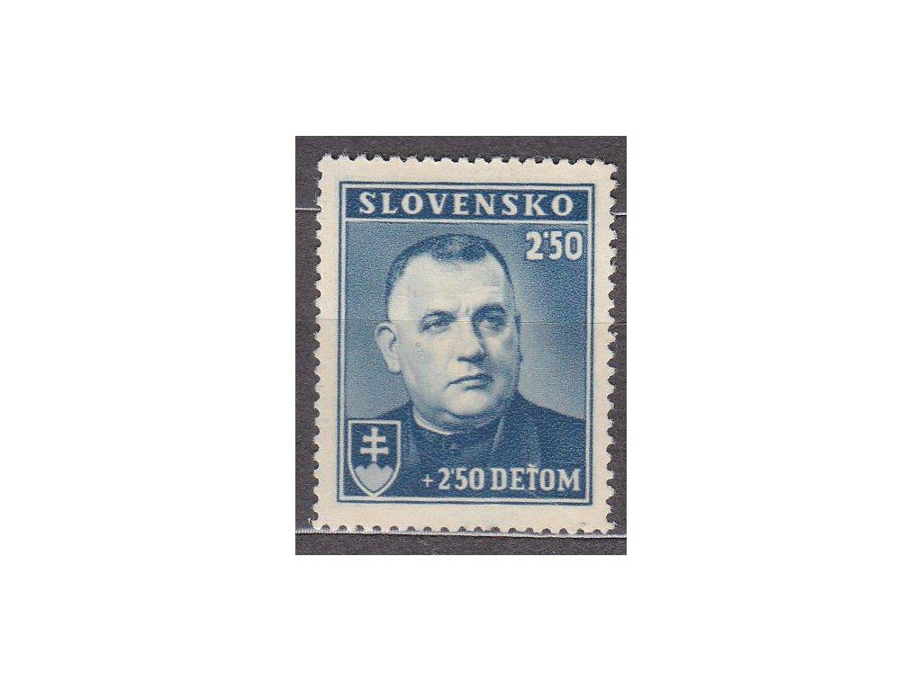 1939, 2.50Ks Tiso, Nr.45, **, ilustrační foto