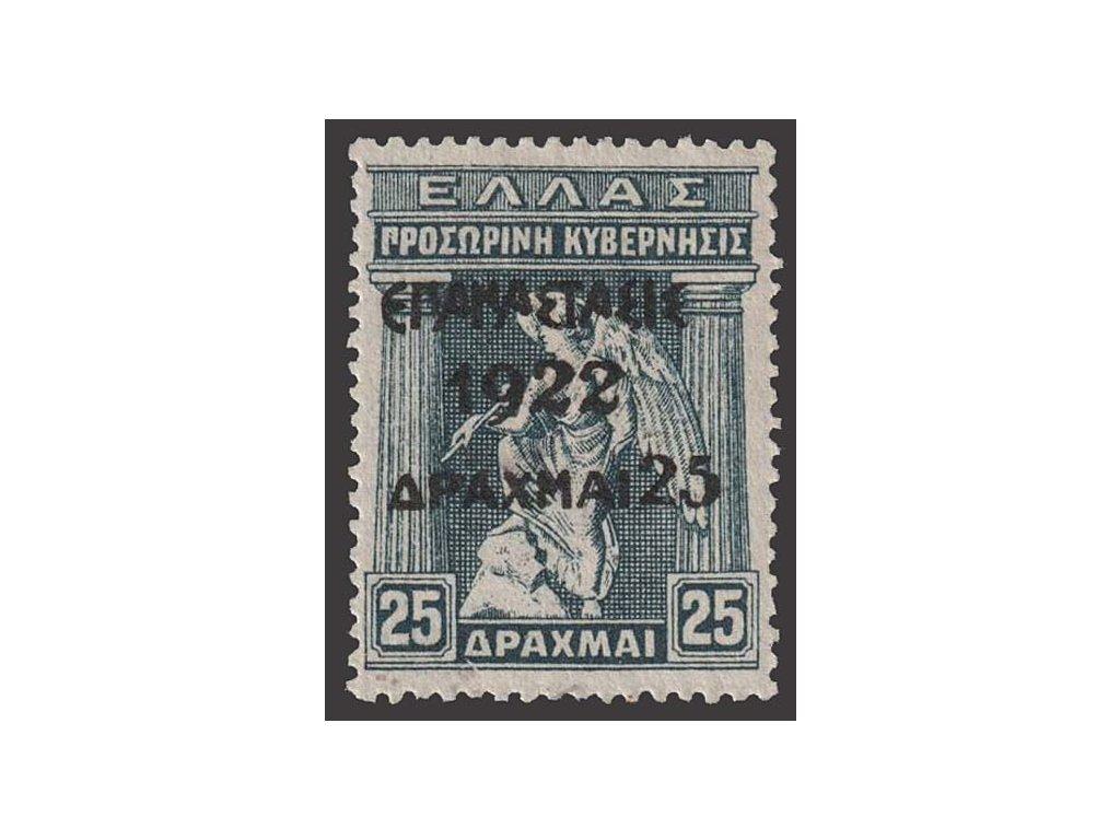 1923, 25Dr/25Dr Iris, MiNr.255, (*)