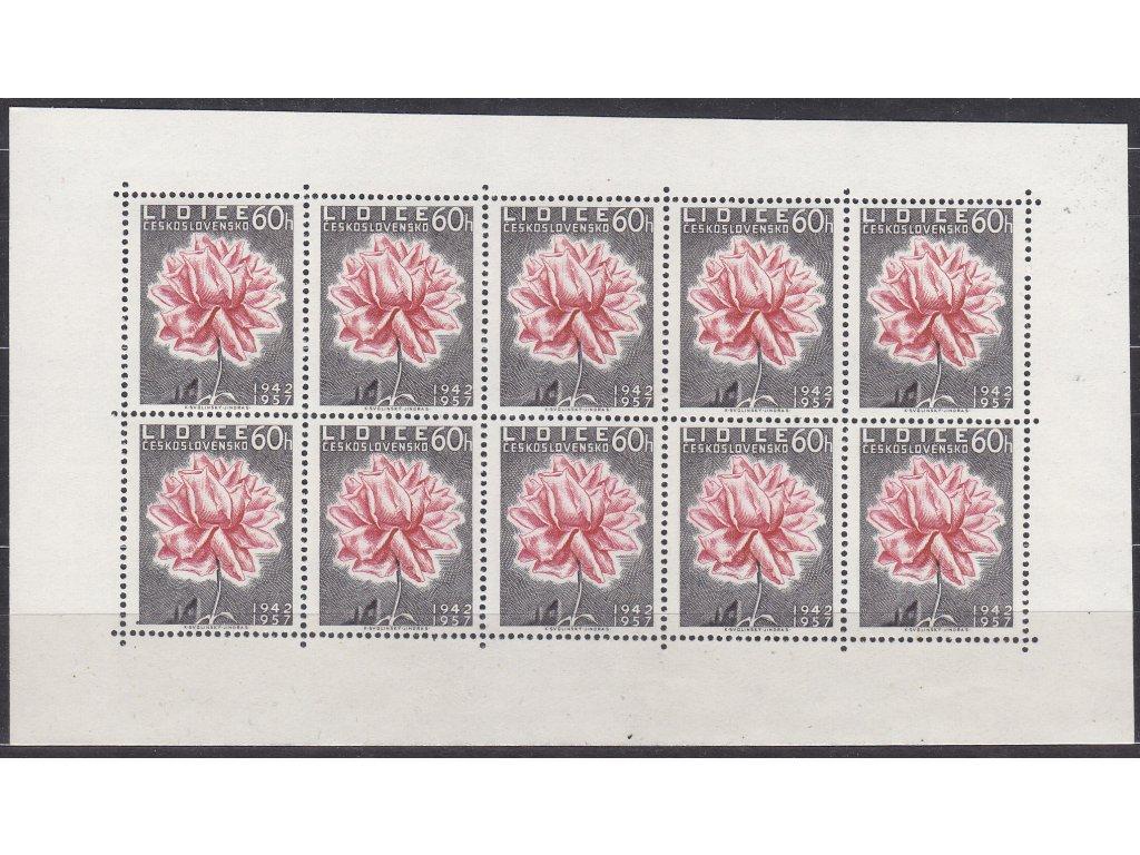 1957, 60h Lidice, PL, Nr.PL951, **, dvl