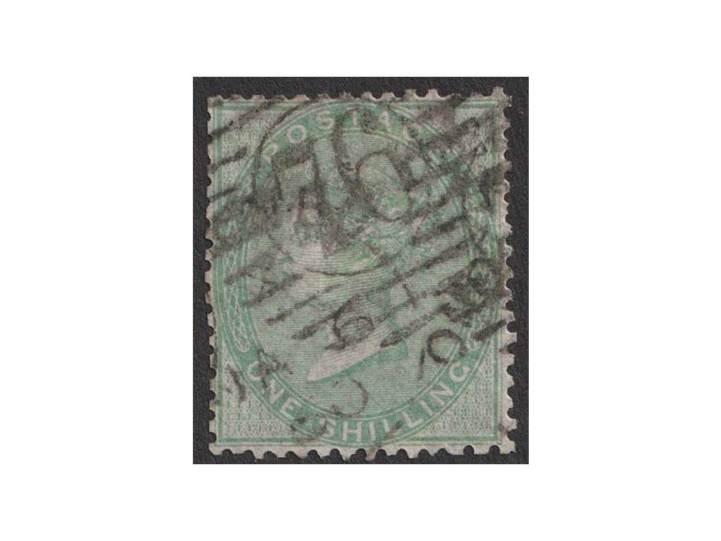 1856, 1 Sh Viktoria, MiNr.15, razítkované