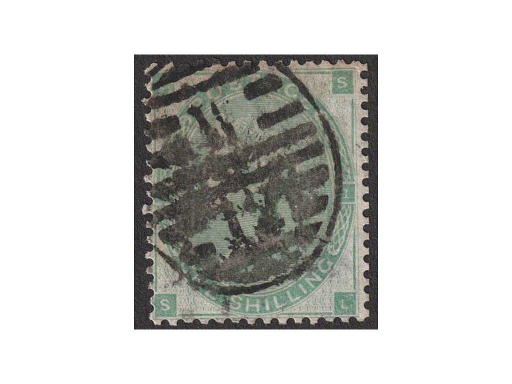 1862, 1 Sh Viktoria, MiNr.22, razítkované