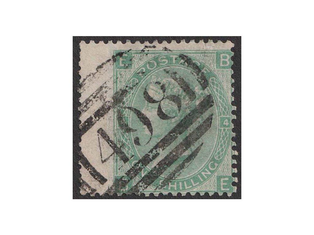1865, 1 Sh Viktoria, MiNr.27, razítkované