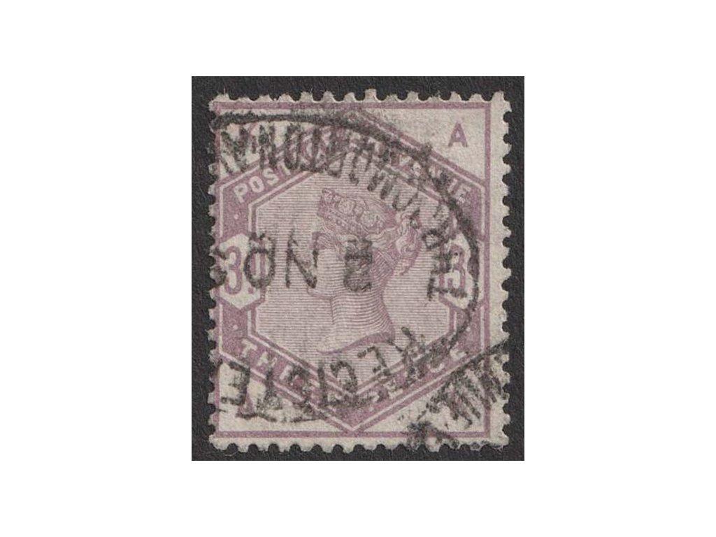 1883, 3 P Viktoria, MiNr.76, razítkované