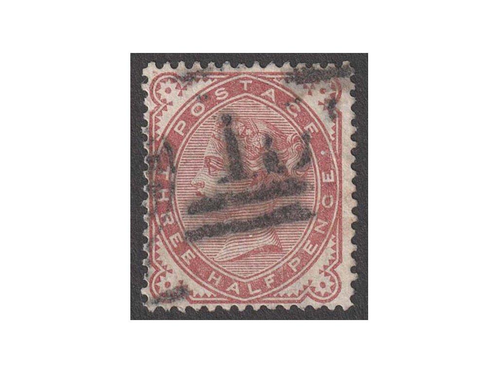 1880, 3/2 P Viktoria, MiNr.57, razítkované