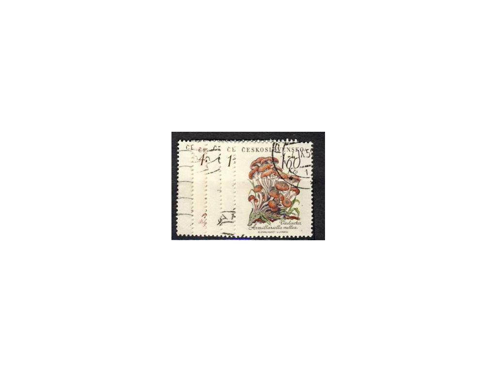 1958, 30h-1.60Kčs série Houby, Nr.1018-22, razítko