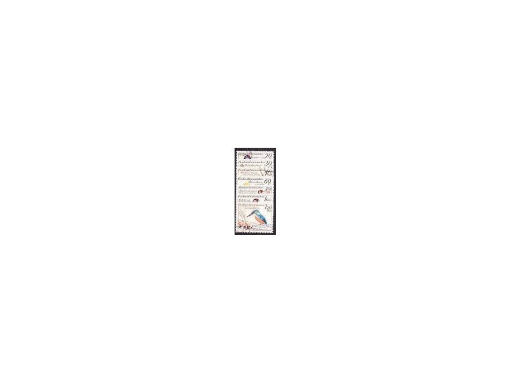 1959, 20h-1.20Kčs Ptactvo, série, razítkované